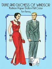 Cover of: Duke and Duchess of Windsor Fashion Paper Dolls in Full Color