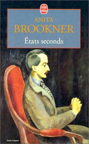 Cover of: Etats seconds