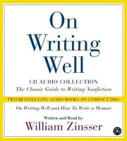 Cover of: On Writing Well CD Audio Collection