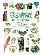 Cover of: Old-Fashioned Vignettes in Full Color