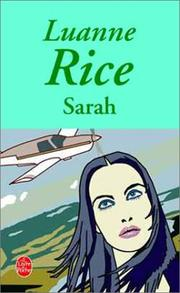 Cover of: Sarah