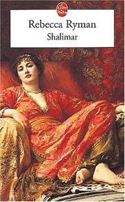 Cover of: Shalimar