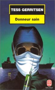 Cover of: Donneur sain