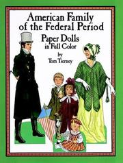 Cover of: American Family of the Federal Period Paper Dolls in Full Color
