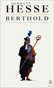 Cover of: Berthold