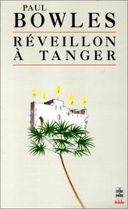 Cover of: Réveillon à Tanger