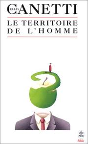 Cover of: Le territoire de l'homme