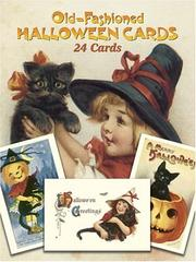 Cover of: Old-Fashioned Halloween Cards