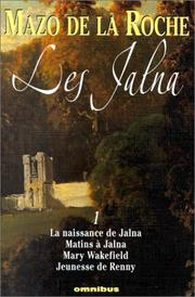 Cover of: Les Jalna, tome 1
