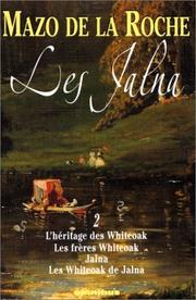 Cover of: Les Jalna, tome 2
