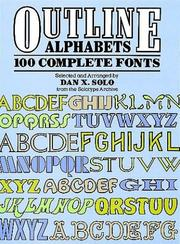 Cover of: Outline Alphabets