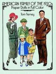 Cover of: American Family of the 1920s Paper Dolls in Full Color