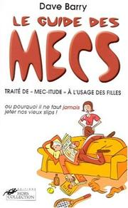 Cover of: Le guide des mecs