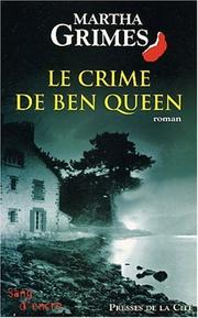 Cover of: Le Crime de Ben Queen