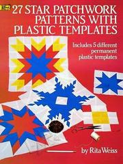 Cover of: Plastic templates for 27 star patchwork patterns