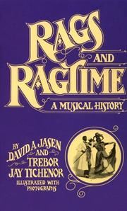 Cover of: Rags and ragtime