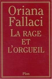 Cover of: La Rage et l'orgueil