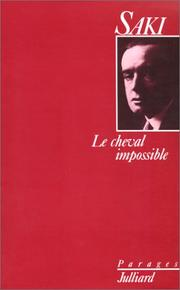 Cover of: Le cheval impossible