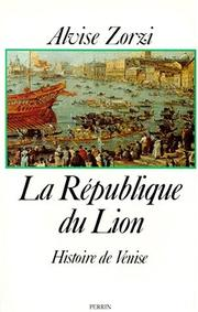 Cover of: La république du lion