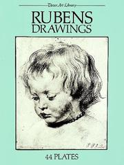 Cover of: Rubens drawings: 44 plates