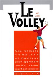 Cover of: Le volley
