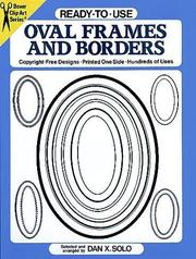 Cover of: Ready-to-Use Oval Frames and Borders (Clip Art Series)