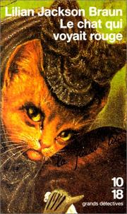 Cover of: Le Chat qui voyait rouge