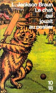 Cover of: Le chat qui jouait au postier