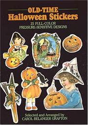 Cover of: Old-Time Halloween Stickers