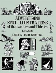 Cover of: Advertising spot illustrations of the twenties and thirties |