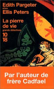 Cover of: La Pierre de vie