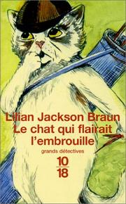 Cover of: Le chat qui flairait l'embrouille