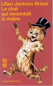 Cover of: Le Chat qui remontait la rivière