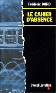 Cover of: Le cahier d'absence