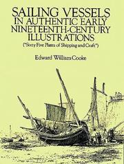 Cover of: Sailing vessels in authentic early nineteenth-century illustrations | Edward William Cooke