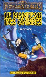 Cover of: Le manteau des ombres