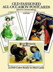 Cover of: Old-Fashioned All-Occasion Postcards