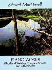 Cover of: Piano Works