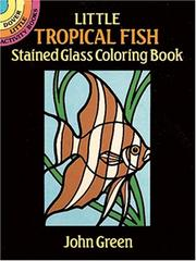 Cover of: Little Tropical Fish Stained Glass Coloring Book