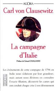 Cover of: La campagne d'Italie