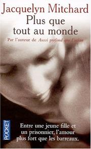 Cover of: Plus que tout au monde