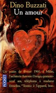 Cover of: Un amour