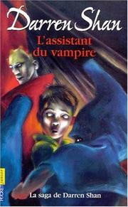 Cover of: L'assistant du vampire