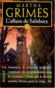 Cover of: L'affaire de Salisbury