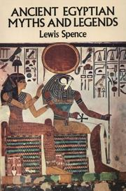 Cover of: Ancient Egyptian myths and legends