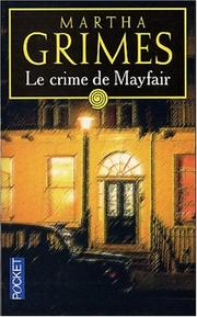 Cover of: Le crime de Mayfair