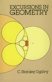 Cover of: Excursions in geometry
