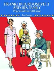 Cover of: Franklin D. Roosevelt and His Family Paper Dolls in Full Color