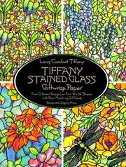 Cover of: Tiffany Stained Glass Giftwrap Paper (Giftwrap--4 Sheets, 4 Designs)