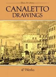 Cover of: Canaletto drawings